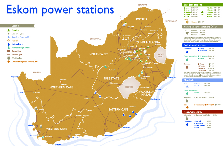 Spatial modelling of independent power producer plant - EE