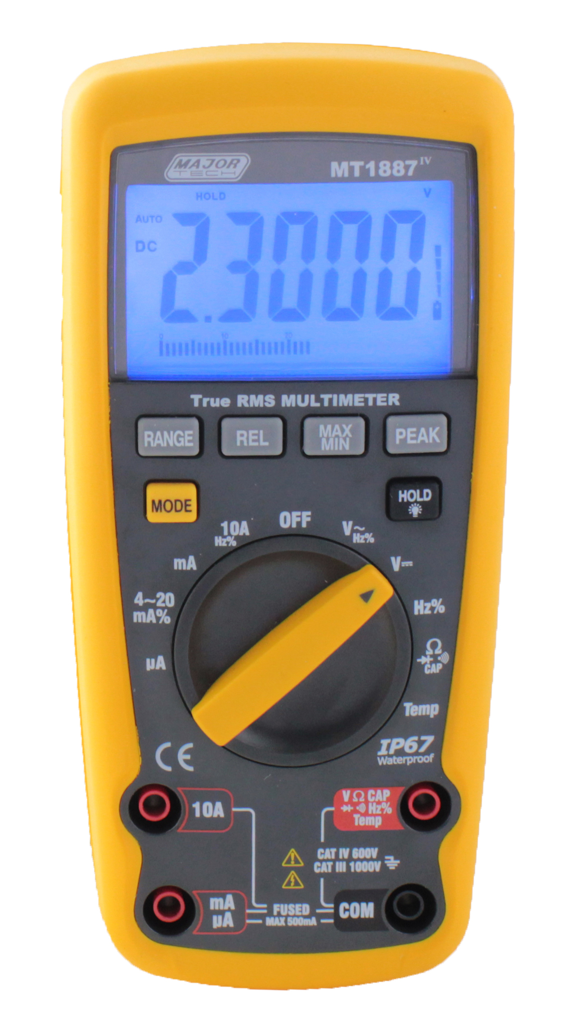 True Rms Industrial Multimeter Ee Publishers Electricalcircuits1 The Mt1887 From Major Tech Measures Ac Voltage And Current Readings Yielding Accurate Results On Sine Waves As Well Non Sinusoidal