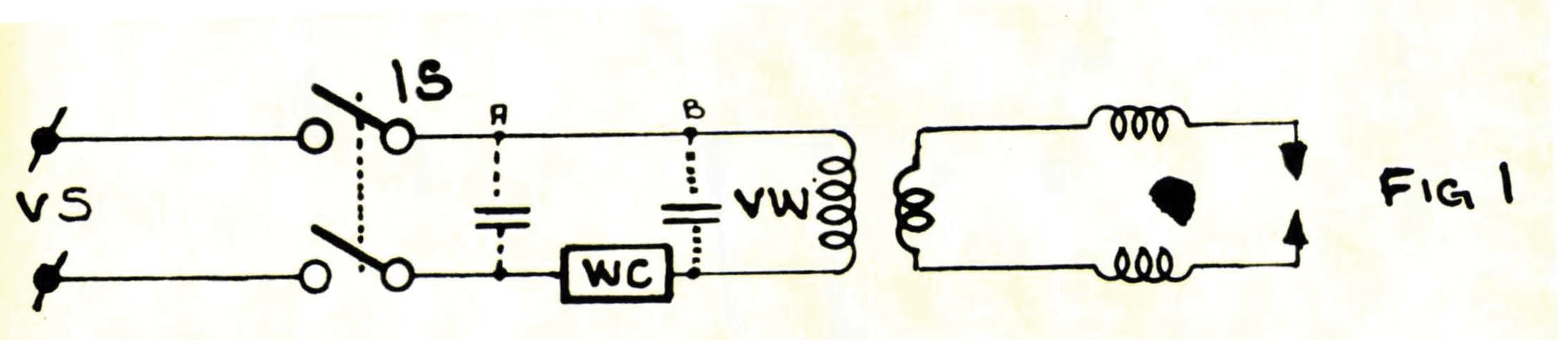 Correction Of Power Factor On Resistance Welding Machine Loads Ee Arc Diagram 1 A Typical Simplified Circuit