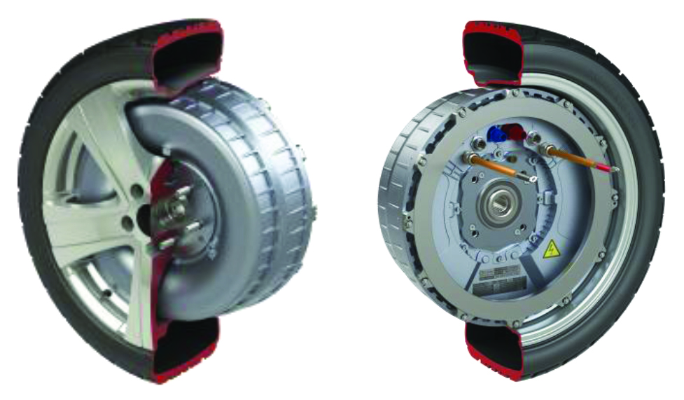 1 Protean Electric S In Wheel Motor Integrating Electronics And Brake