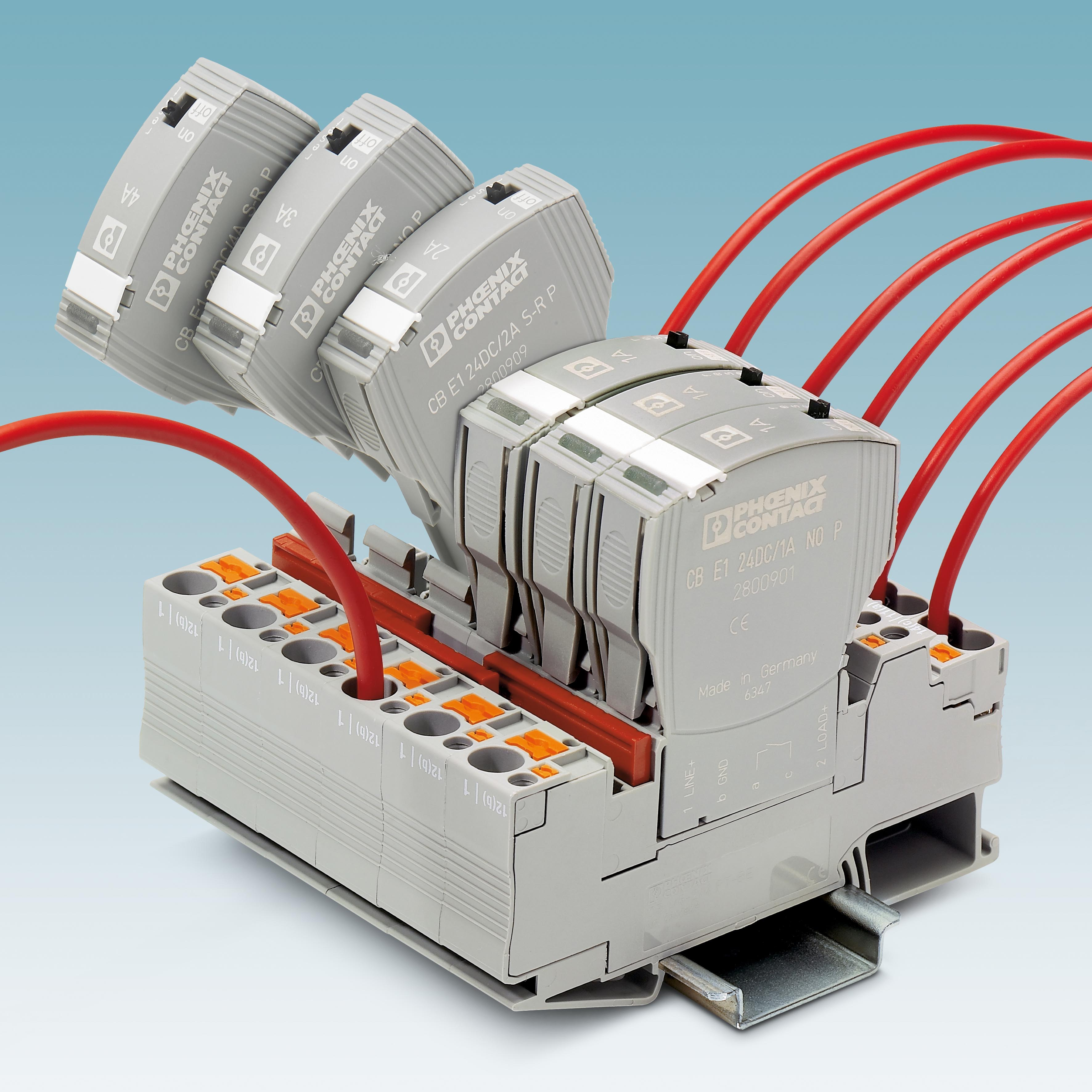 Reliable Protection With Electronic Device Circuit Breakers Ee March 2013electronics Project Circuts 4 Multi Channel Of The Cbmc Type Have An Io Link Interface