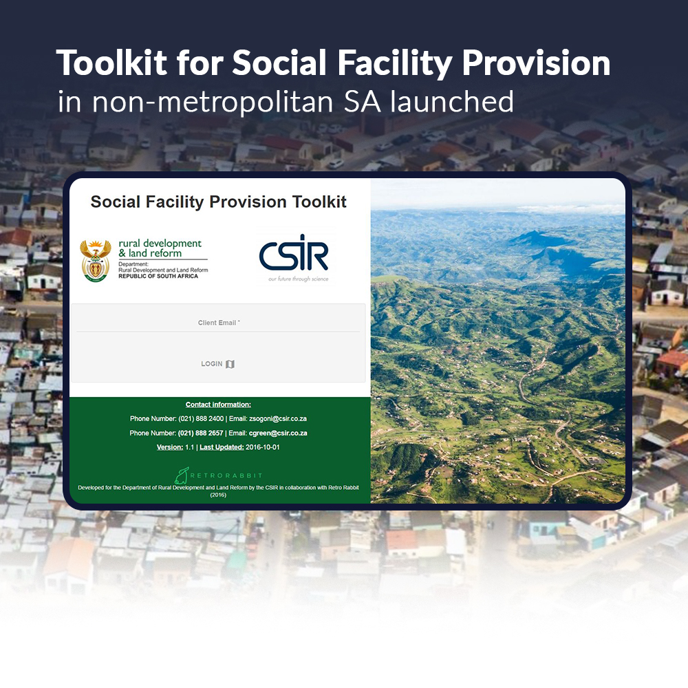 Fig. 2: The Social Facility Provision Toolkit.
