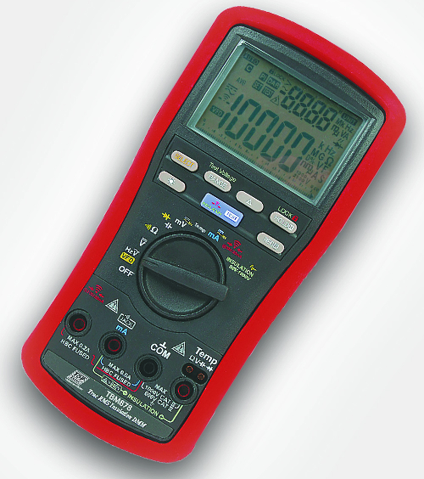 Digital Multimeter Continuity : Digital multimeter with insulation and earth continuity