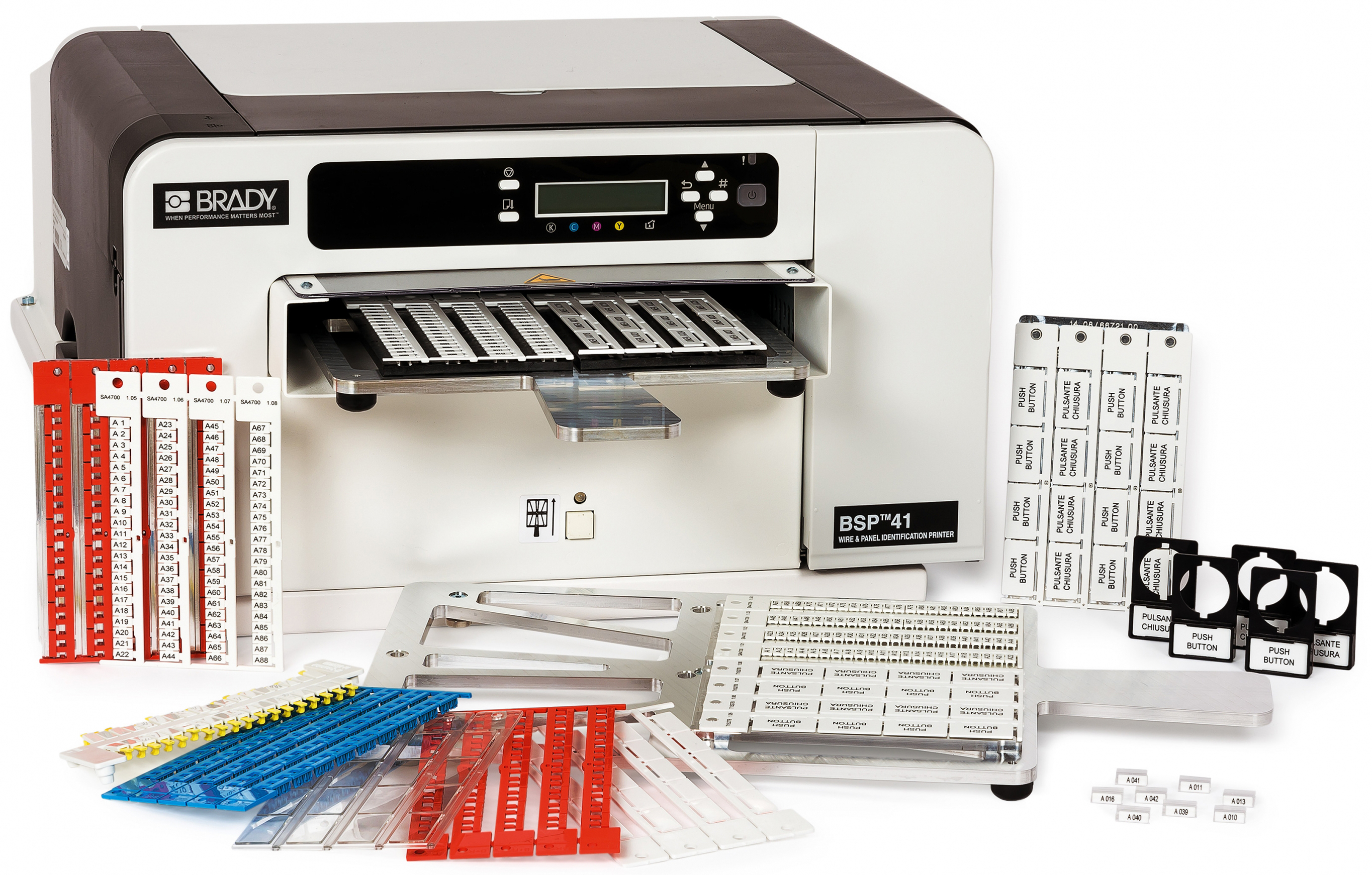 Wire and panel identification printer - EE Publishers