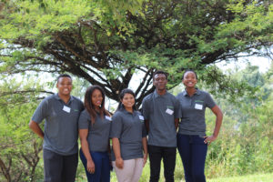 Students selected for the Esri South Africa learnership programme.