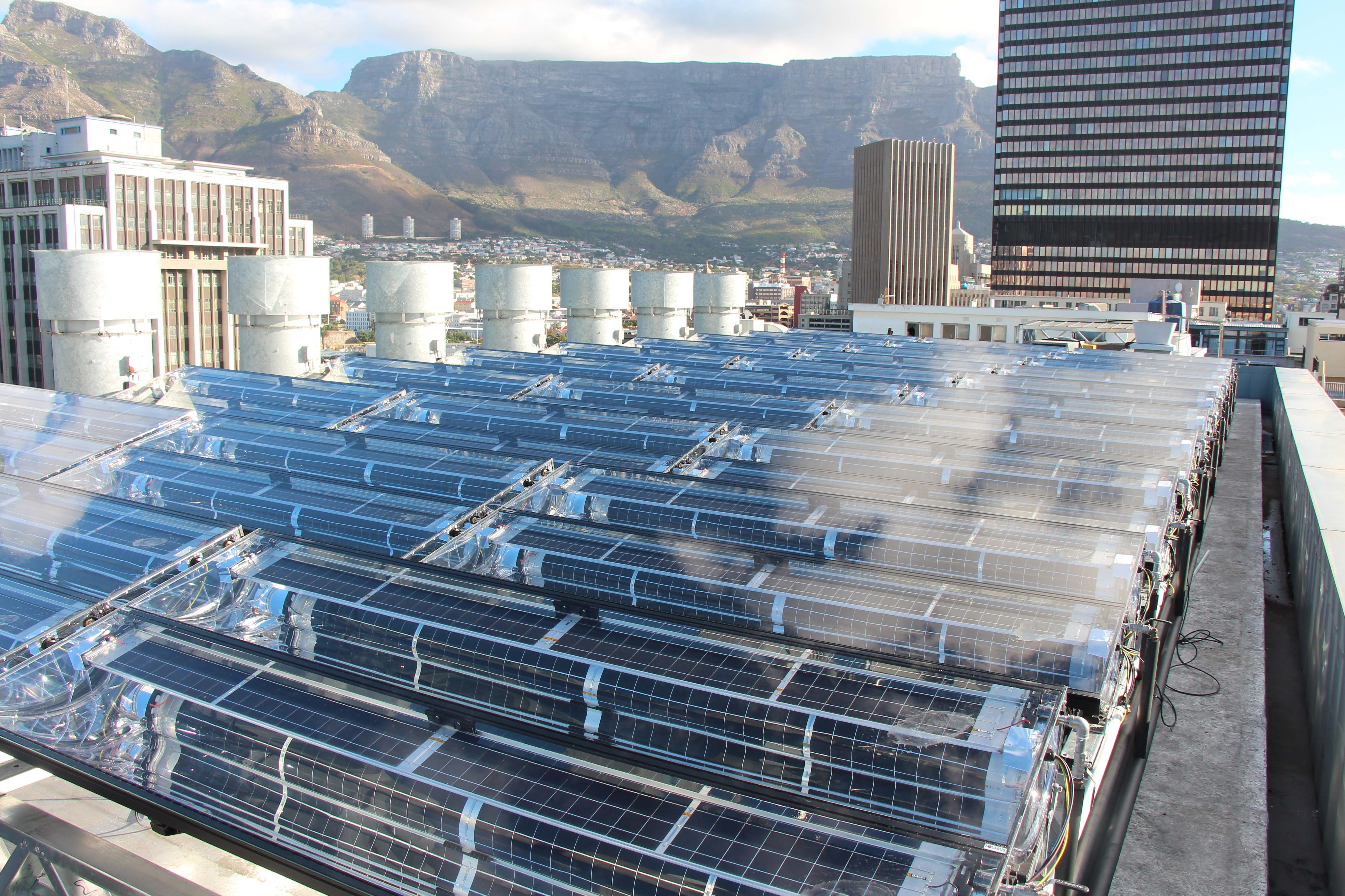 Hotel installs large-scale PVT project | Credible Carbon
