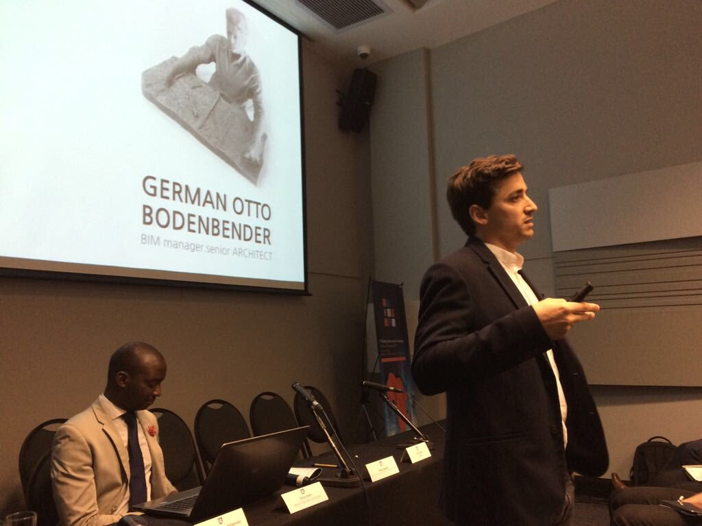 German Otto Bodenbender explains how BIM tools can improved the design process.