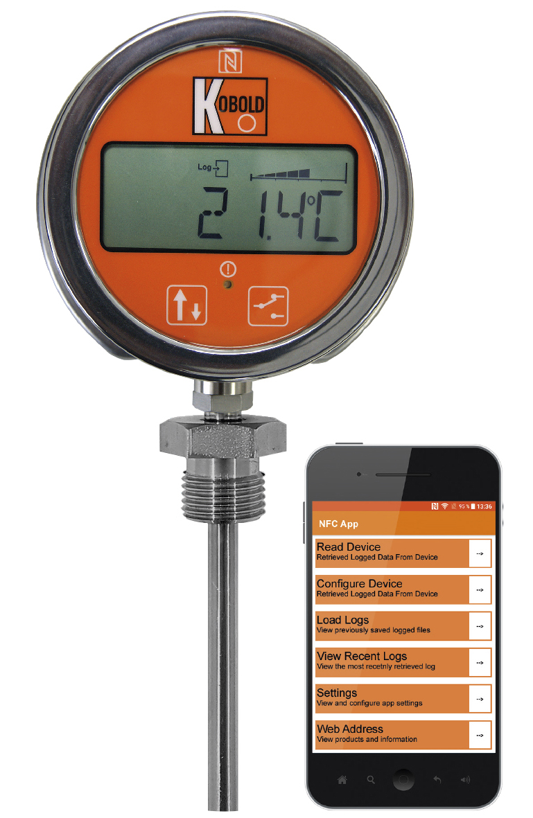 Battery Powered Digital Temperature Gauge Ee Publishers Rs 232 Sensor Instrotech Has On Offer Kobolds Dte Series Gauges This Offers A Range Of Industrial And Analytical Possibilities For