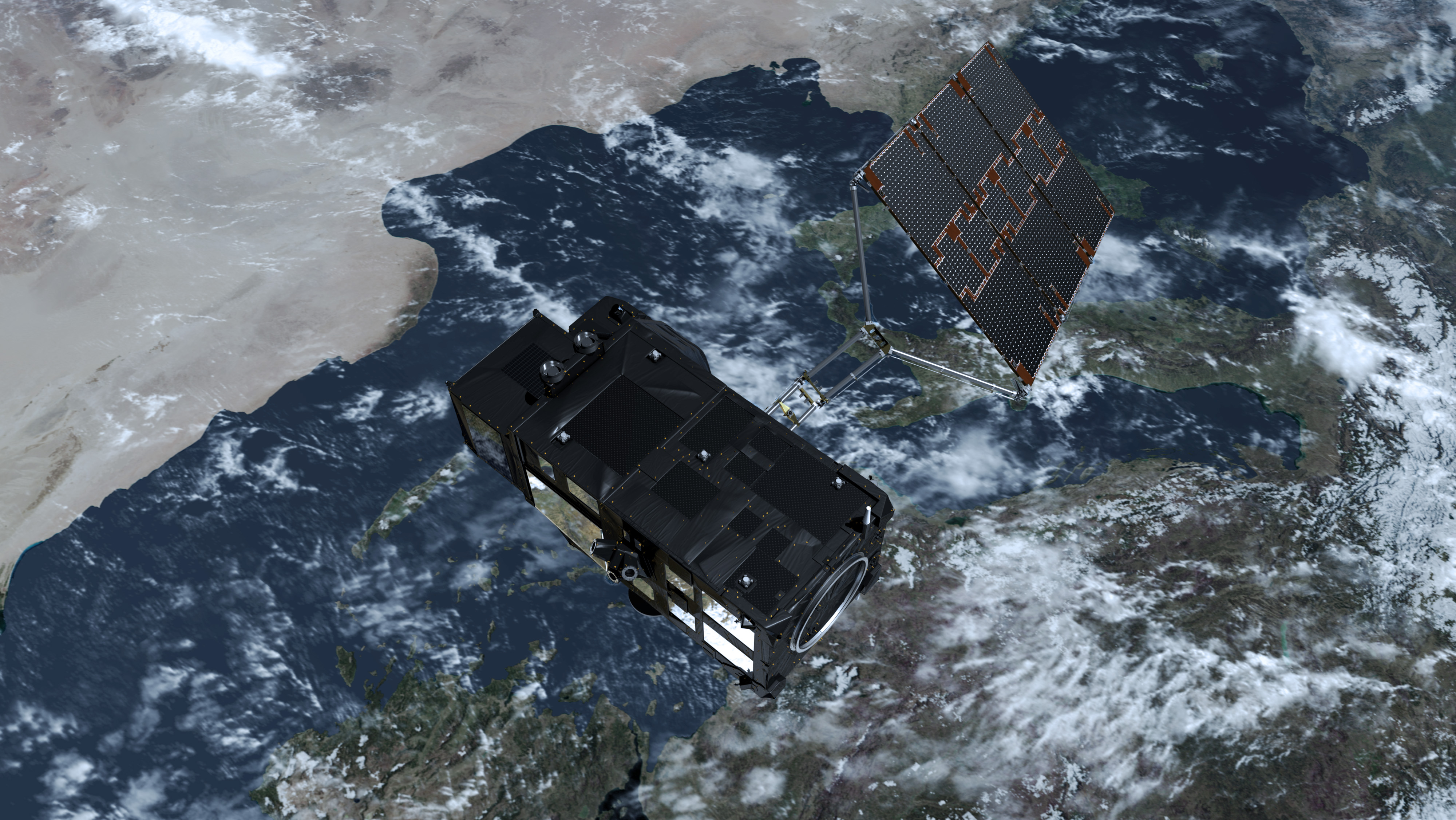 Carrying a precision radar altimeter, an advanced infrared radiometer and a wide-swath ocean and land imaging spectrometer, Sentinel-3 delivers critical data on the height and temperature of the sea surface.