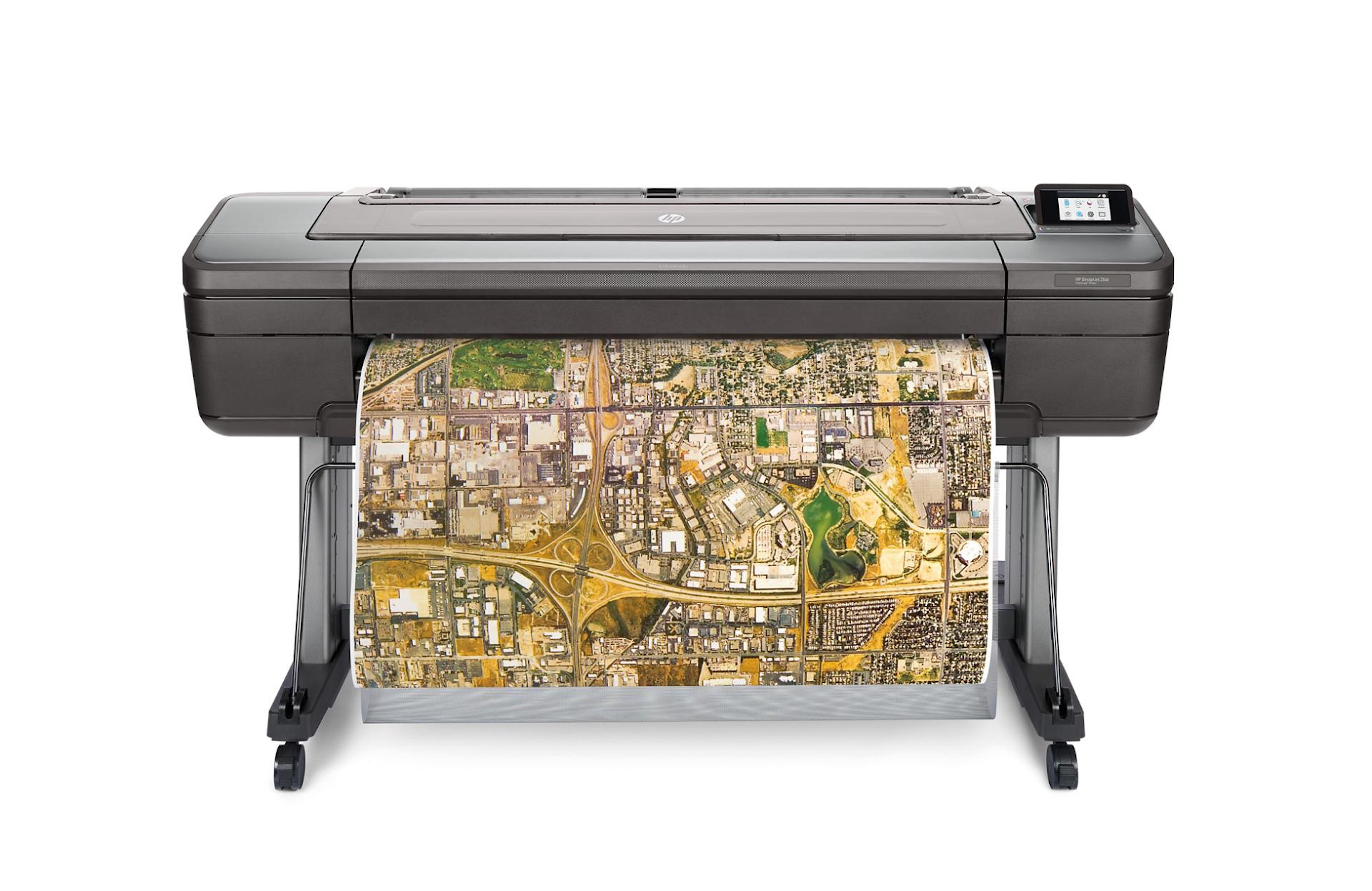 Fig. 1: HP DesignJet Z6 printers are designed for GIS applications.