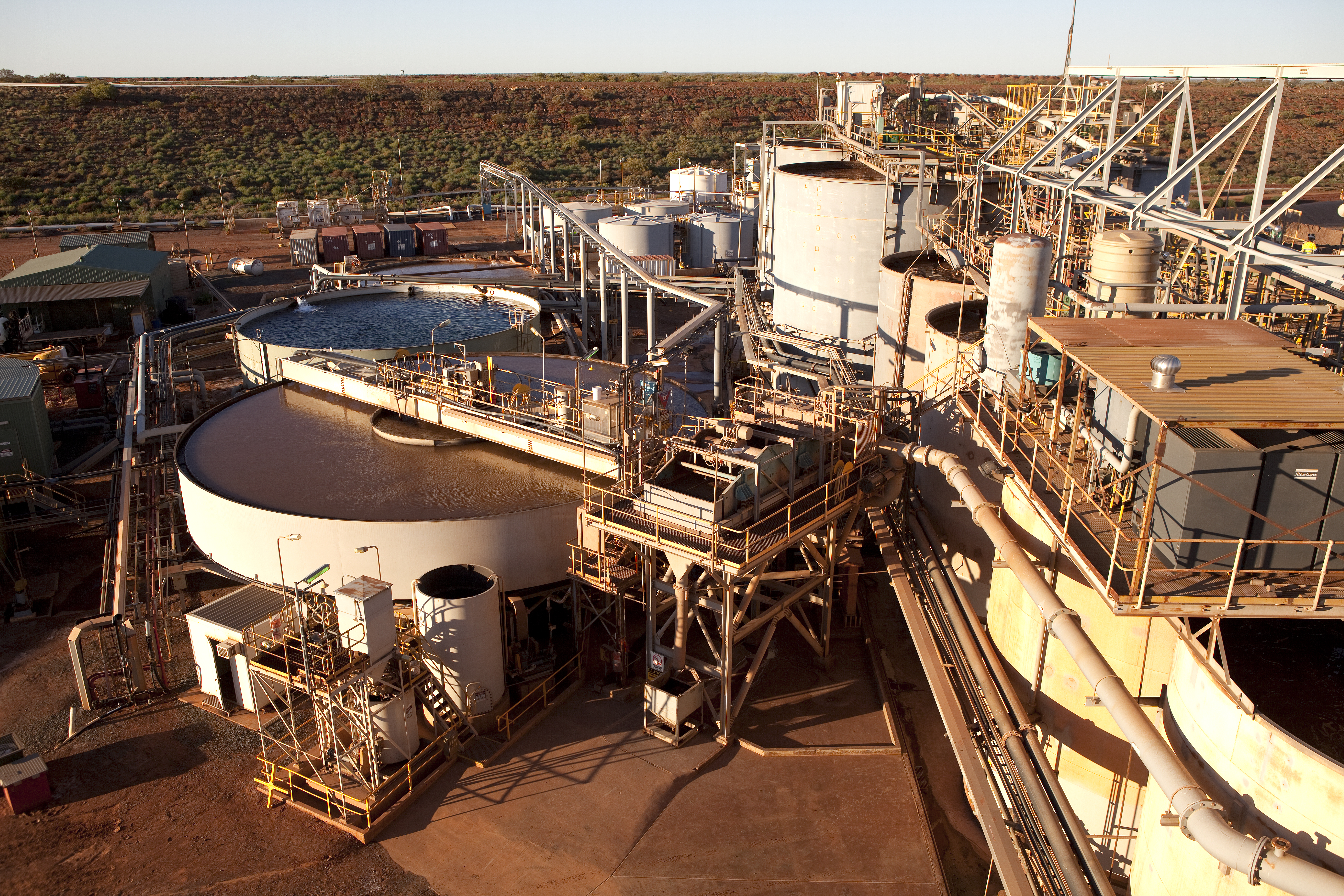 Fig. 1: The Tanami gold mine is an underground operation that produces 459 000 attributable ounces of gold annually.