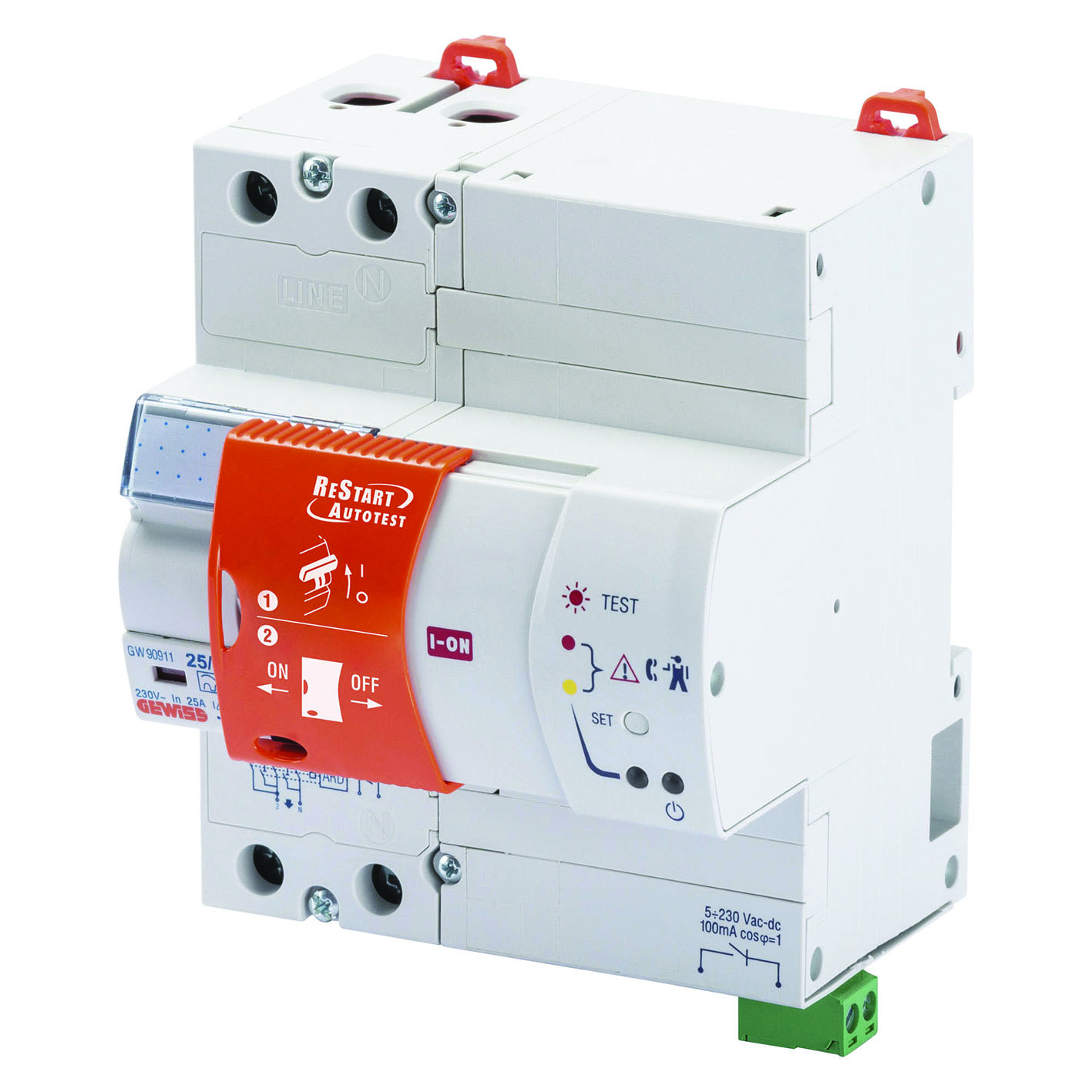 Switchgear For Total Safety Ee Publishers How To Reset A Tripped Circuit Breaker Gewiss Offers The Restart Solution Which Ensures Service Continuity In Case Of Untimely Tripping And Only Resets Residual Current