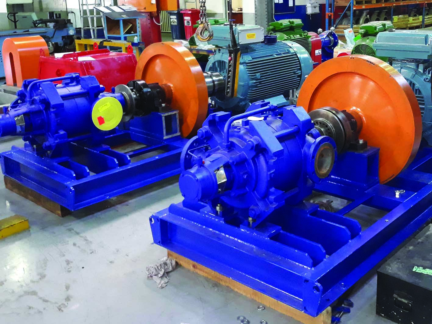 Flywheel pump prevents damage to infrastructure - EE Publishers