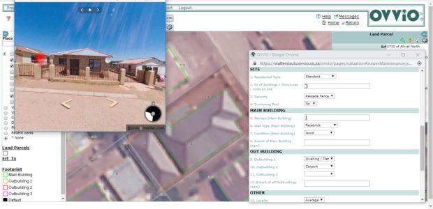 Fig. 6: Utilising datasets to capture property details.