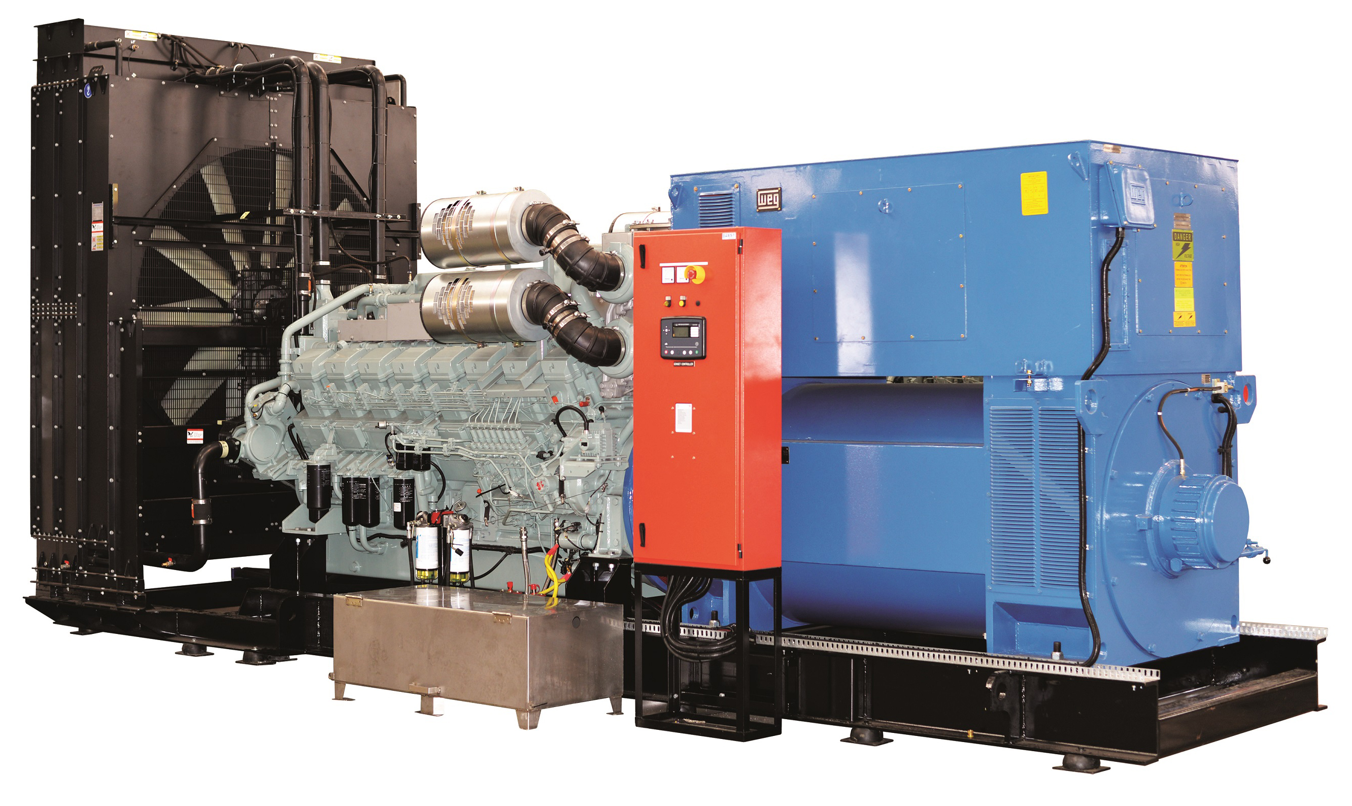Gensets supplied to keep the lights on | Credible Carbon