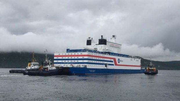 Floating nuclear power station launched | Credible Carbon